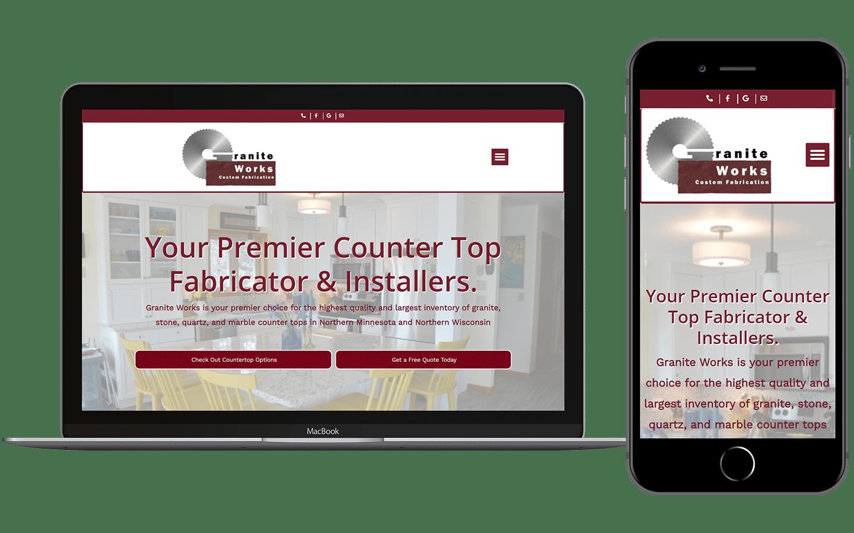 Granite Works Website Preview