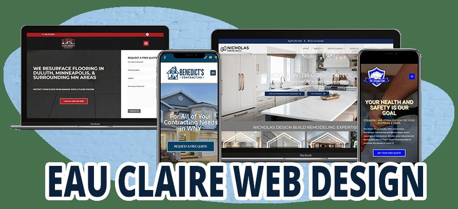 Web Design Eau Claire WI Examples