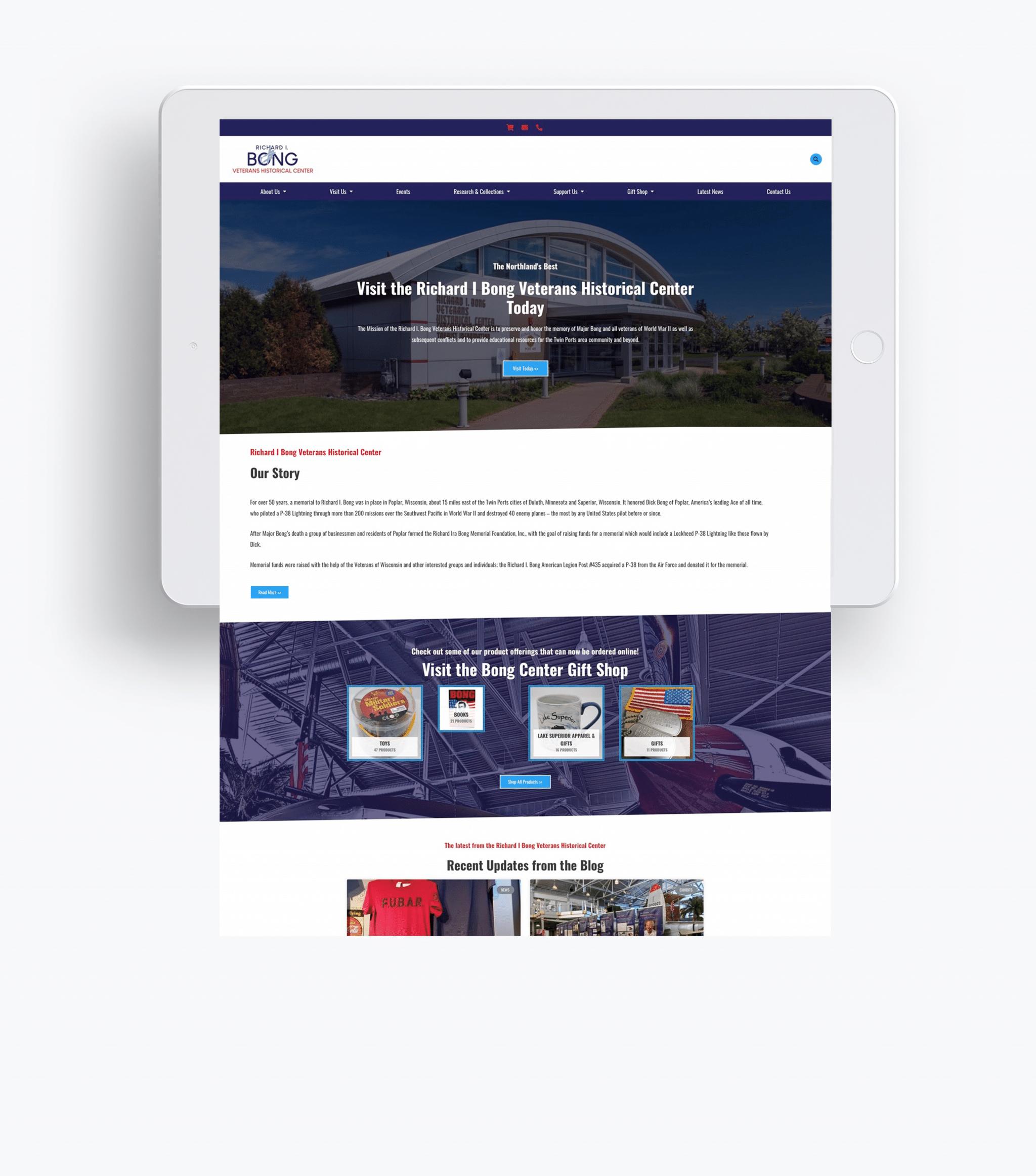 Duluth Minnesota Digital Marketing Agency Website Example